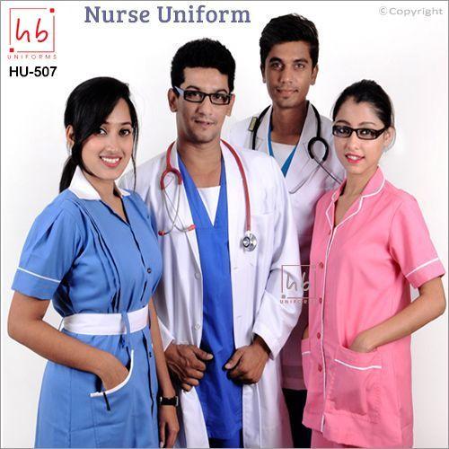 White Nurse Uniform