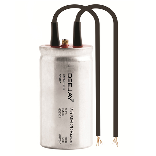Oil Filled Fan Capacitor