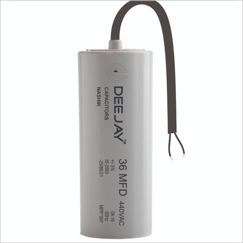Wire Type PP Can Running Capacitor