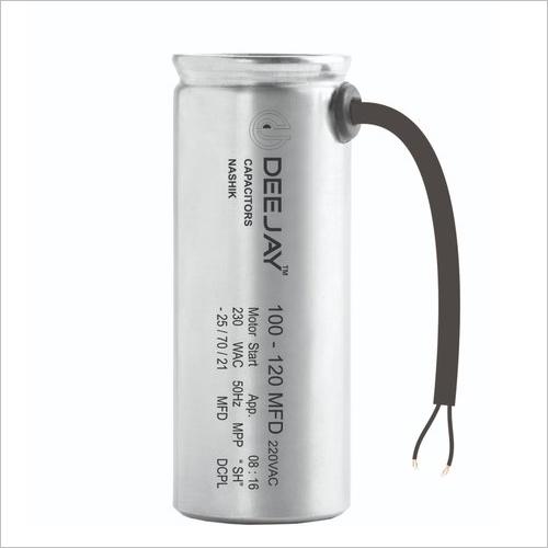 Aluminum Dry Motor Start Capacitor