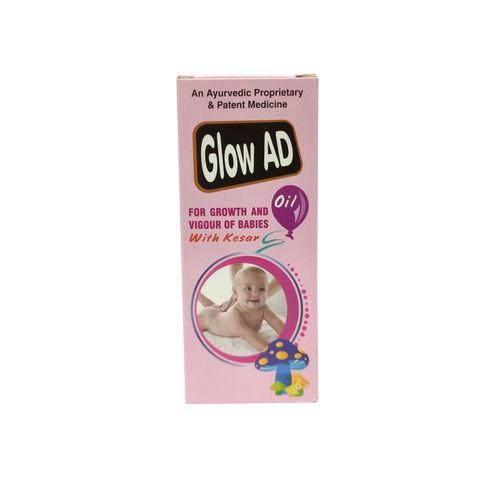 Glow Ad Massage Oil For Kids 100ml