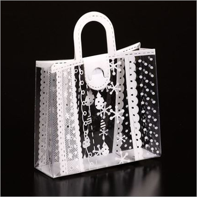 10x3x9 CM PVC Packaging Bag With Handle