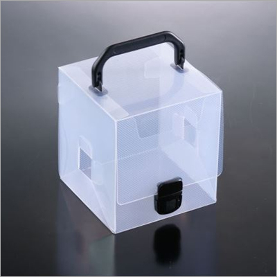 13x13x14 CM PP Transparent Box With Handle
