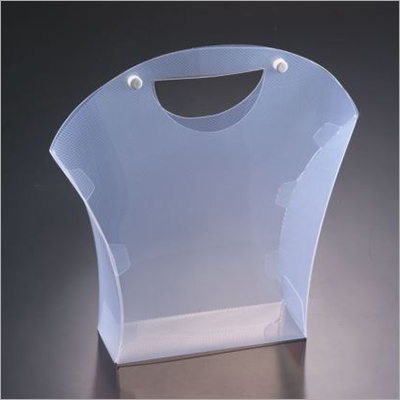 16x6x19.5 CM PP Transparent Packaging Box With Handle