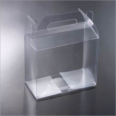 13.2x10x15.5 CM PVC Transparent Box