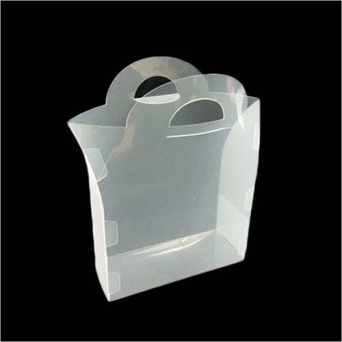 PP Transparent Bag With Handle