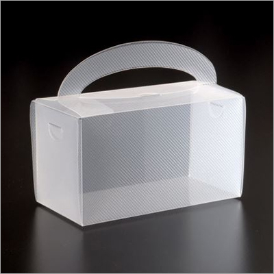 16x8x9 CM PP Packaging Box With Handle