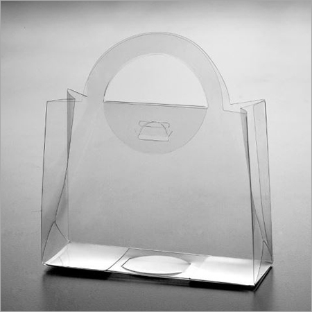 PVC Transparent Bag With Handle