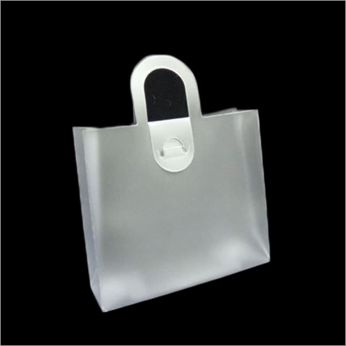PVC Bag With Loop Handle