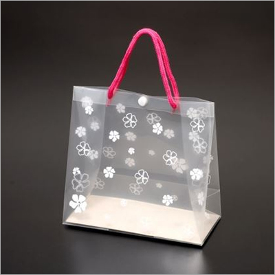 21x10x20 CM PP Printed Bag With Loop Handle