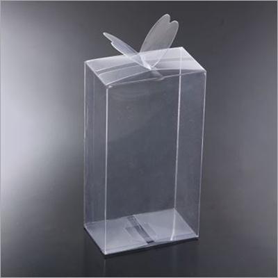 Caja transparente de la mariposa del PVC