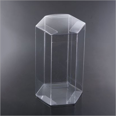 PVC Transparent Hexagon Box