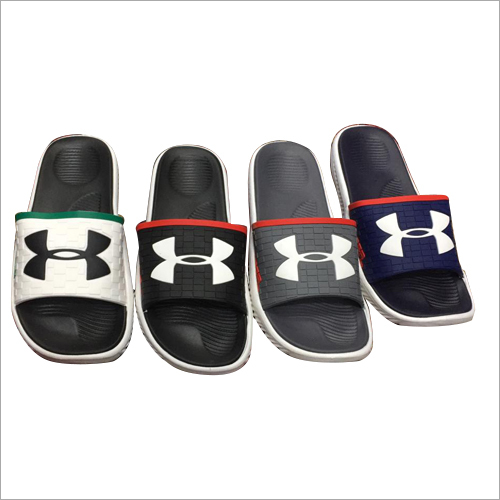 Mens Printed Slides Slippers