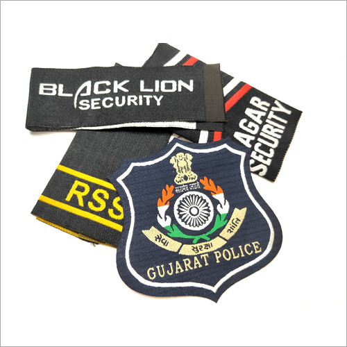 Customize Security Embroidered Badges