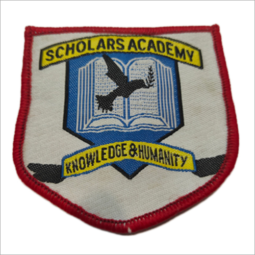 Embroidered School Badges