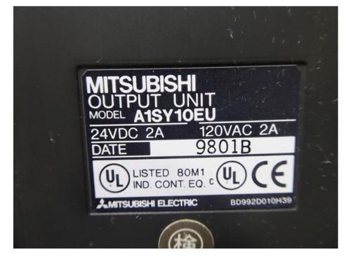 MITSUBISHI  PLC  MODULE  OUTPUT UNIT  A1SY10EU