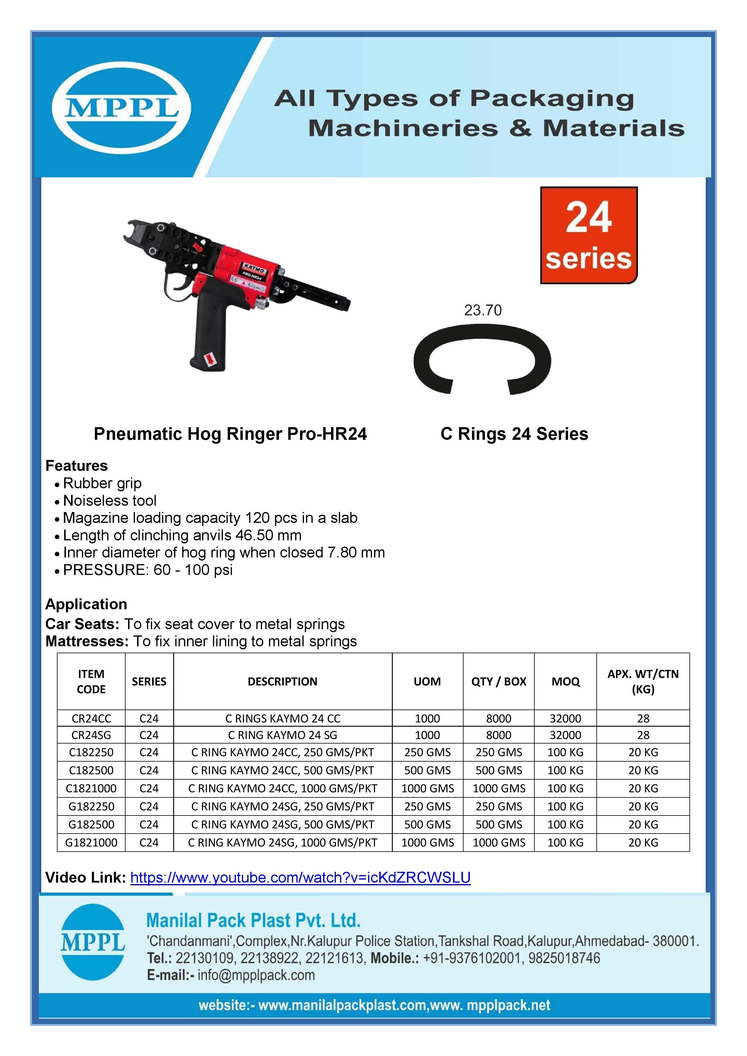 Pneumatic Hog Ringer Pro-HR24