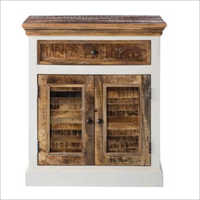 White Mania Wooden Cabinet