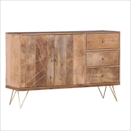 Wooden 2 Door 3 Drawer Sideboard