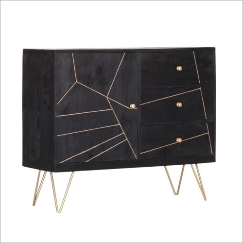 Noah Wooden 1 Door 3 Drawer Sideboard