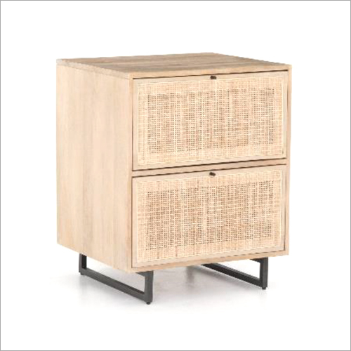Mango Wood Bedside Table