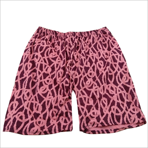 Designer Print Cotton Shorts
