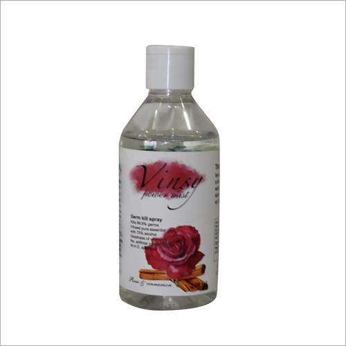 200 ML Rose Cinnamon Hand Flip Top Sanitizer