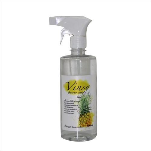 500 ML Pineapple Hand Spray Gun Sanitizer