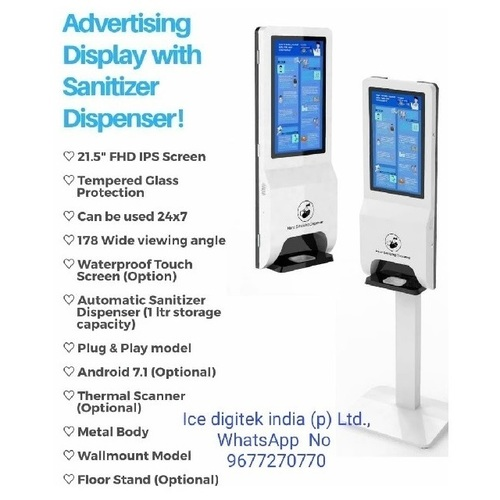 Hand Sanitizer Dispenser Liquid Induction Automatic Touchless