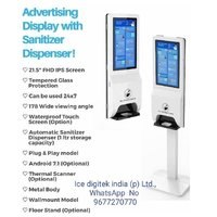 Automatic Sensor Alcohol Standing Touchless Automated Hand Sanitizer Dispenser