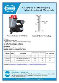 Pneumatic Nailer ECO-PN2970