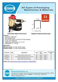 Pneumatic Nailer PRO-PN2357
