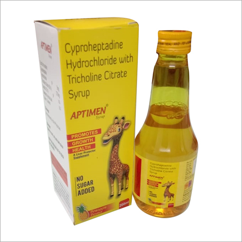 Cyproheptadine Hydrochloride with Tricholine Citrate Syrup