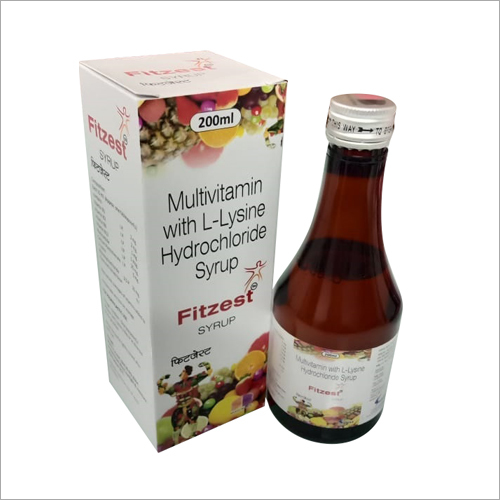 Multivitamin with L-Lysine Hydrochloride Syrup