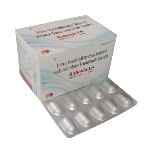 Enteric Coated Rabeprasole Sodium & Sustained Release Levosulpiride Capsules