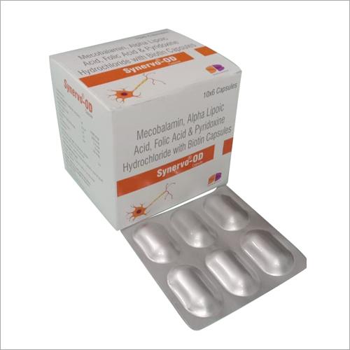 Mecobalamin - Alpha Lipoic Acid & Folic Acid with Biotin Capsules
