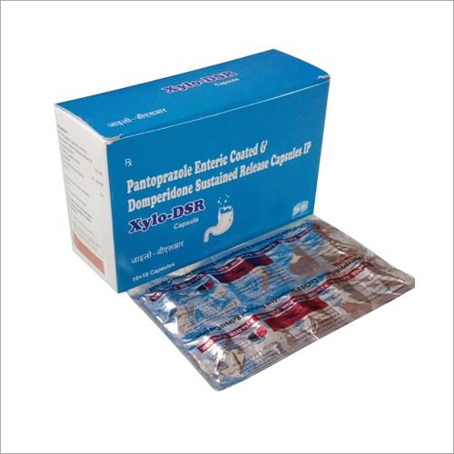 Pantoprazole Enteric Coated & Domperidone Sustained Release Capsules IP