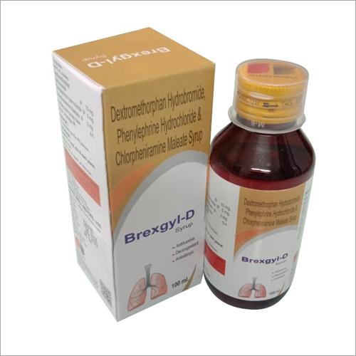 Dextromethorphan Hydrobromide - Phenylephine Hydrochloride & Chlorpheniramine Maleate Syrup
