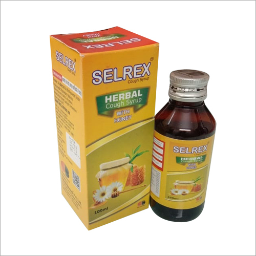 Herbal Cough Syrup with Honey