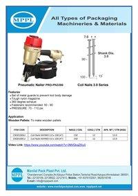 Pneumatic Nailer PRO-PN3390
