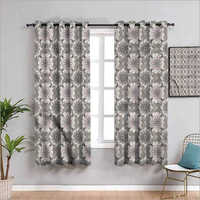 Decorative Printed Window - Door Curtain