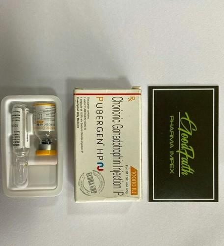 Pubergen 10000 Iu Chorionic Gonadotropin Injection