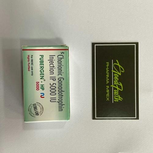 Pubergen 5000 Chorionic Gonadotropin Injection