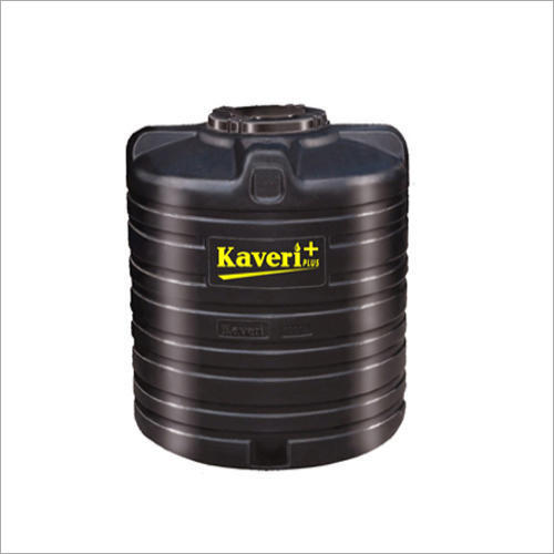 HDPE Black Color Water Tank