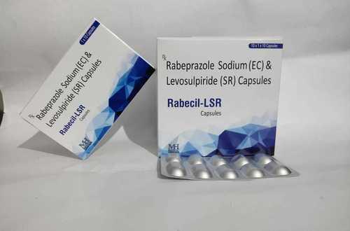 Rabeprazole 20 mg + Levosulphride 75 mg (SR) Capsule (RABECIL-LSR)