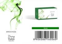 TULSI GREEN TEA-CURING