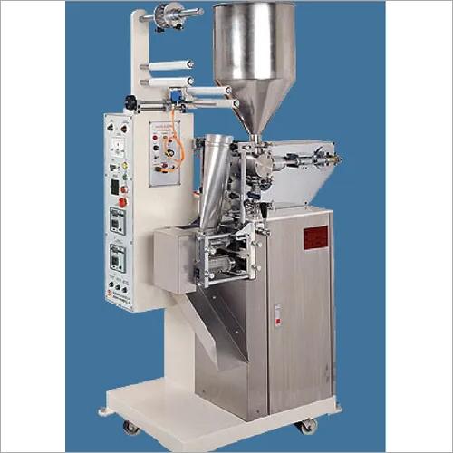 sanitiser pouch filling machine