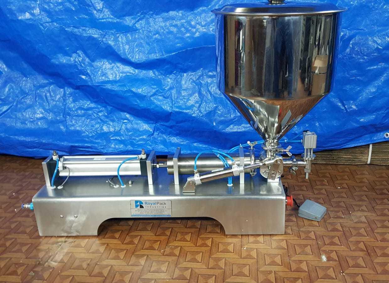 Hand wash liquid soap filling machine