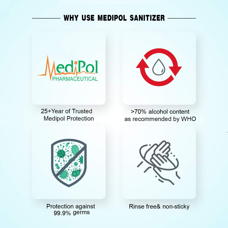 500 ML Purem Isopropyl Alcohol Instant Hand Sanitizer