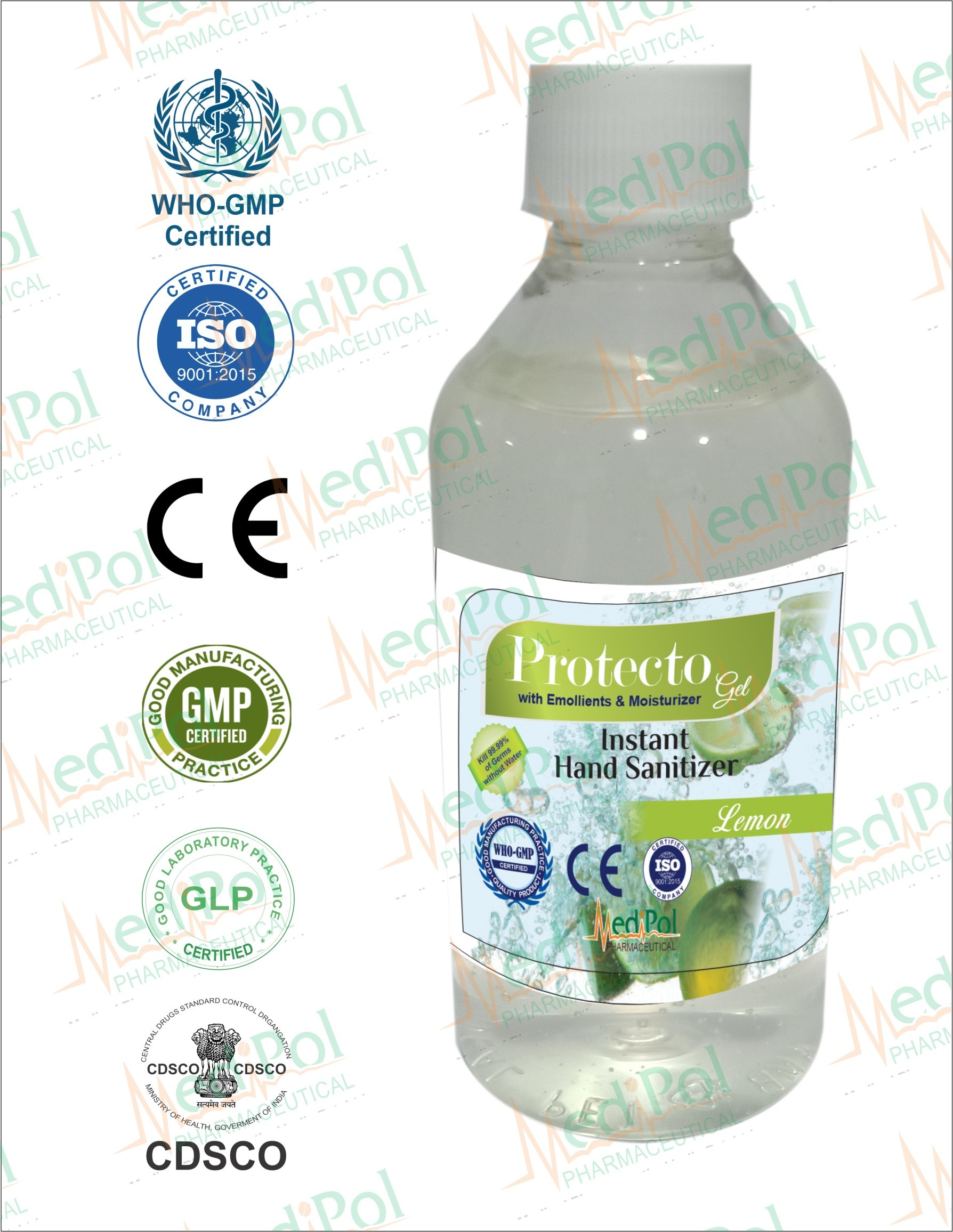 200 ML Protecto Gel Instant Hand Sanitizer